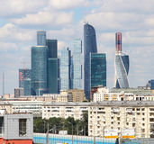 Moscow city international business centre, Russia Stock Photography