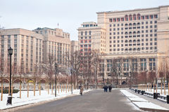 Moscow, a city landscape Stock Images