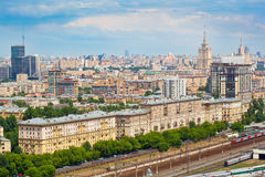 Moscow - city landscape Royalty Free Stock Images