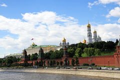 Moscow city landscape Royalty Free Stock Photos