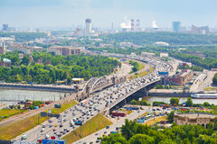 Moscow - city landscape Stock Images