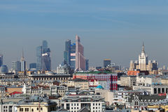 Moscow-City Stock Image