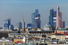 Moscow-City Royalty Free Stock Images