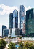 Moscow-city (Moscow International Business Center) Royalty Free Stock Photo