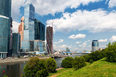 Moscow-city (Moscow International Business Center) Stock Photos