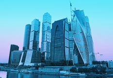 Moscow-city (Moscow International Business Center) Stock Photography