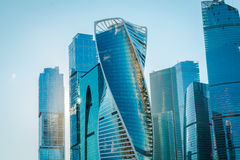 Moscow-City in Moscow Royalty Free Stock Image