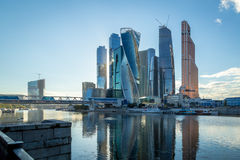 Moscow-City in Moscow Stock Photography