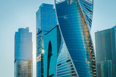 Moscow-City in Moscow Stock Images