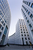 Moscow city office architecture. Moscow city modern office architecture Royalty Free Stock Photo