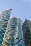 Moscow City office buildings Royalty Free Stock Photo