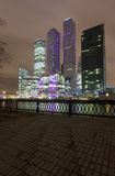 Moscow-City office district Stock Images
