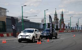 Moscow City Racing Stock Images