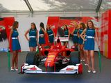 Moscow City Racing Royalty Free Stock Photography