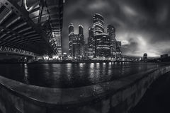 Moscow City, Russia Stock Images