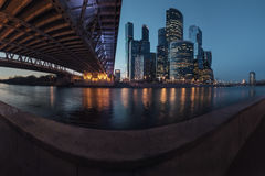 Moscow City, Russia stock image