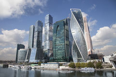 Moscow City, Russia Stock Photography