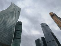Moscow City Skyscrapers. Explore Russia. stock image