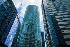 Moscow City Skyscrapers Stock Image
