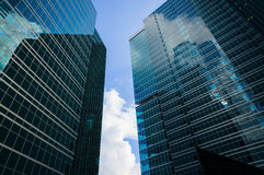 Moscow City Skyscrapers Stock Images