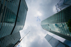Moscow City Skyscrapers Stock Photography