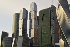 Moscow - City. Towers of Office center Moscow - City Stock Image