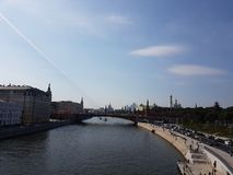Moscow city view, Russia. Moscow city view russia cityscape urban royalty free stock photography
