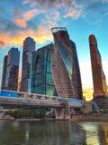 Moscow city view, Russia. Moscow city view russia cityscape urban architecture stock image