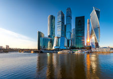 Moscow City. Stock Images