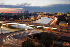 Moscow city Stock Image