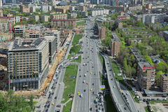 Moscow cityscape Stock Photo