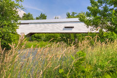 Moscow Covered Bridge in Summer Stock Photography