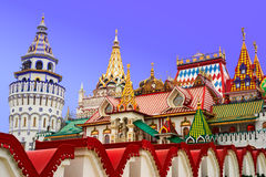 Moscow. Cultural-Entertainment Complex Kremlin In Izmailovo in Moscow, Russia Stock Photos