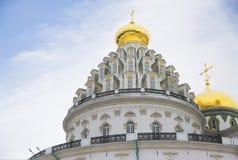 moscow 2007 23 czerwca Jerusalem klasztor nowego Rosji rotunda Fotografia Royalty Free