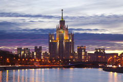 Moscow dawn Royalty Free Stock Image