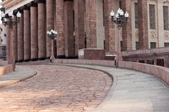 moscow delstatsuniversitet Arkivbild