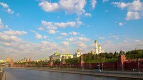moscow Demonstration för Maj dag arkivfilmer