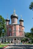 moscow Donskoy kloster Royaltyfria Foton
