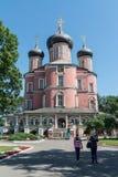 moscow Donskoy kloster Arkivbilder