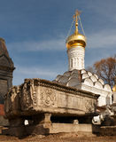 Moscow. Donskoy Monastery. Donskoi Monastery Royalty Free Stock Image