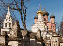 Moscow. Donskoy Monastery. Donskoi Monastery Stock Images