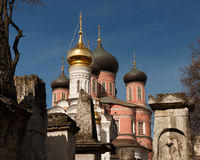 Moscow. Donskoy Monastery. Donskoi Monastery Royalty Free Stock Photography