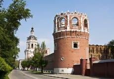 Moscow, Donskoy monastery Stock Photos