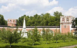 Moscow, Donskoy monastery Stock Images