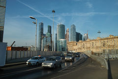Moscow downtown Royalty Free Stock Photography