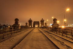 Moscow early winter morning Royalty Free Stock Photo