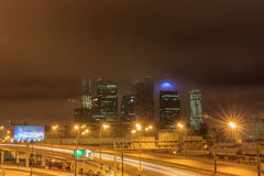 Moscow early winter morning Stock Images
