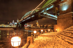 Moscow early winter morning Royalty Free Stock Photography