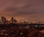 Moscow early winter morning Royalty Free Stock Image