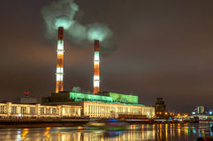 Moscow electric station Royalty Free Stock Images